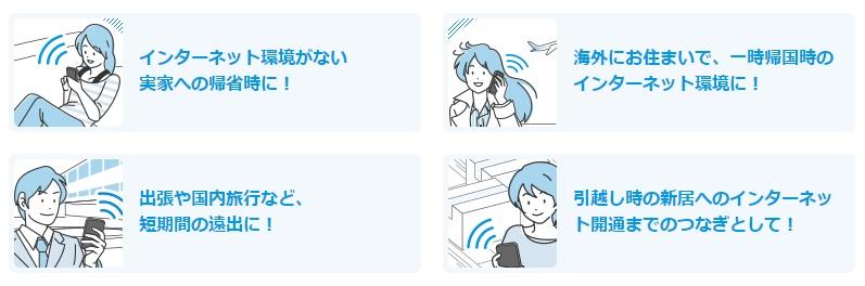 レンタルWi-Fiの使い勝手は?