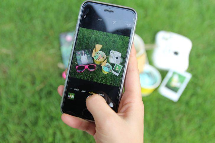 ピクニックとiPhone