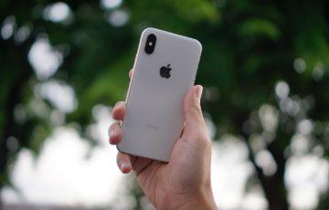 iPhoneXを持つ人