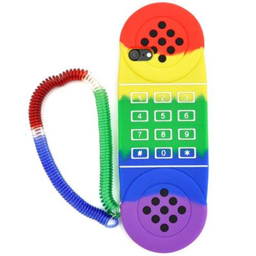 受話器型スマホケース