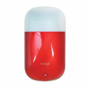 スマートフォンUV除菌器 Dr.カプセル レッド ROA7267